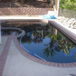 Newbury Park Pool Finish Black Pebble 0990