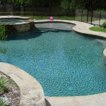 Tarzana Pool Finish Tahoe Blue Pebble 0720