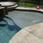 Tarzana Pool Finish Tahoe Blue Pebble0718