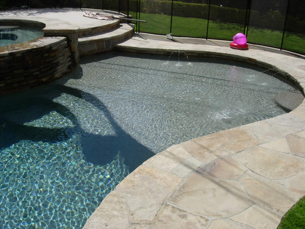 Fresh Tahoe Blue Pebble Pool Finish | Skinner Pools ZJ21