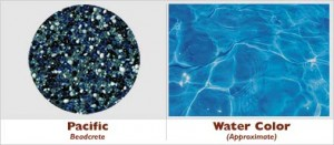 Pacific Beadcrete Glass Bead Pool Finish