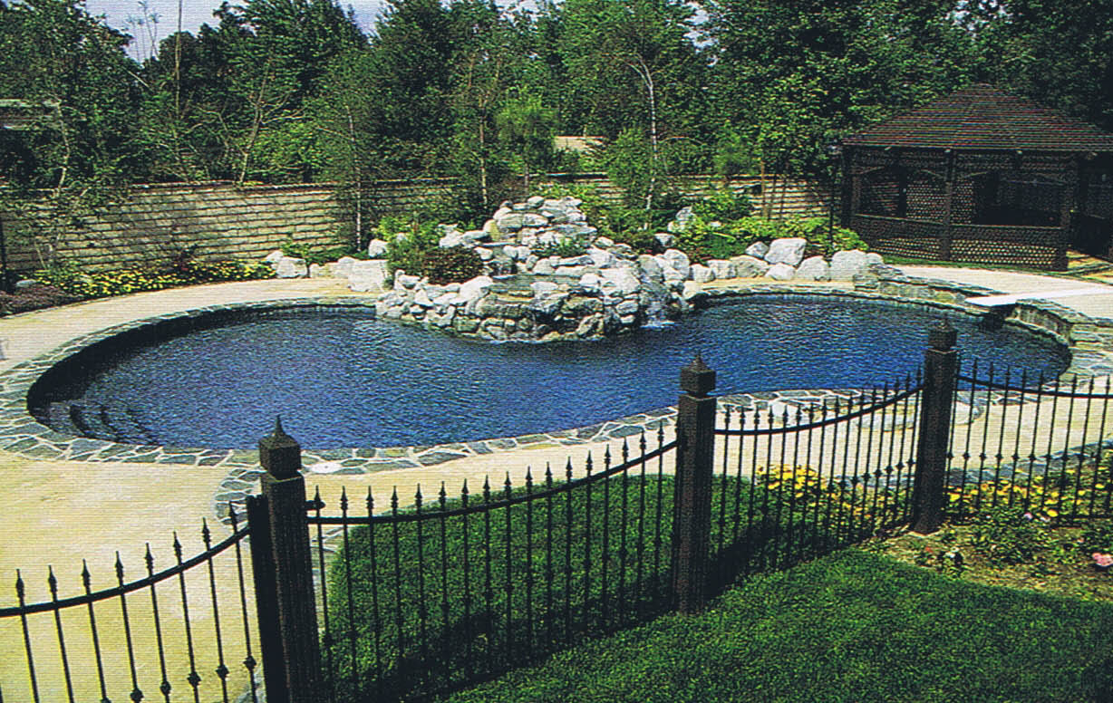 Amazing Deluxe Gray Swimming Pool - MyHomeImprovement