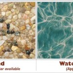 Sand Exposed Pebble Swimming Pool Surface