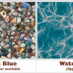Tropics Blue Exposed Pebble Swimming Pool Surface